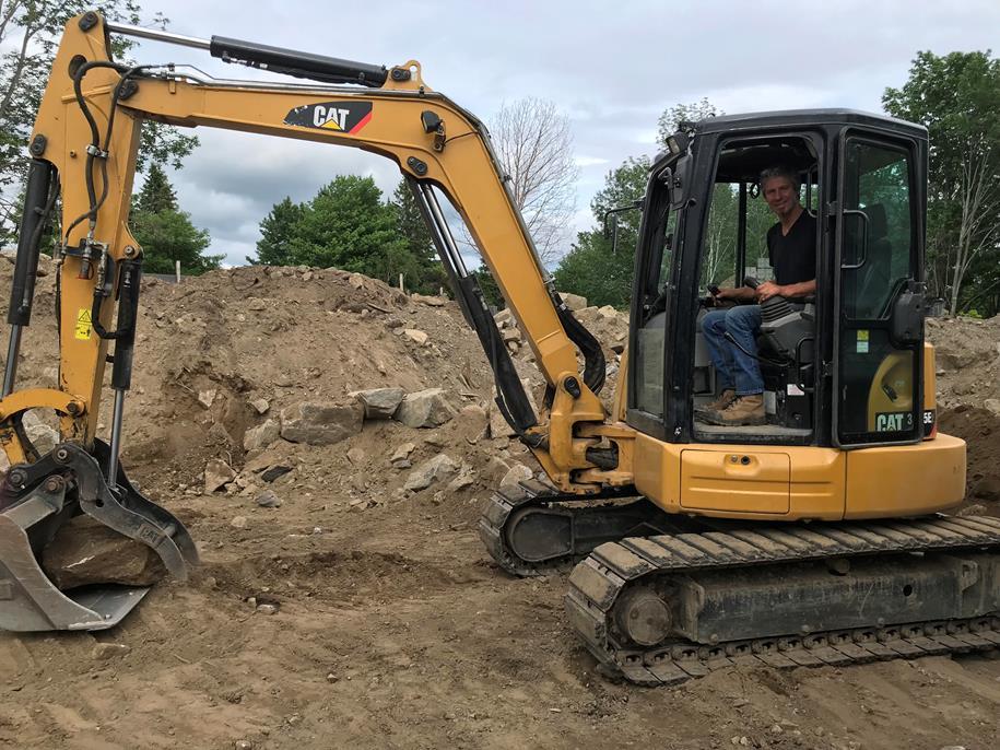 Excavation équipement